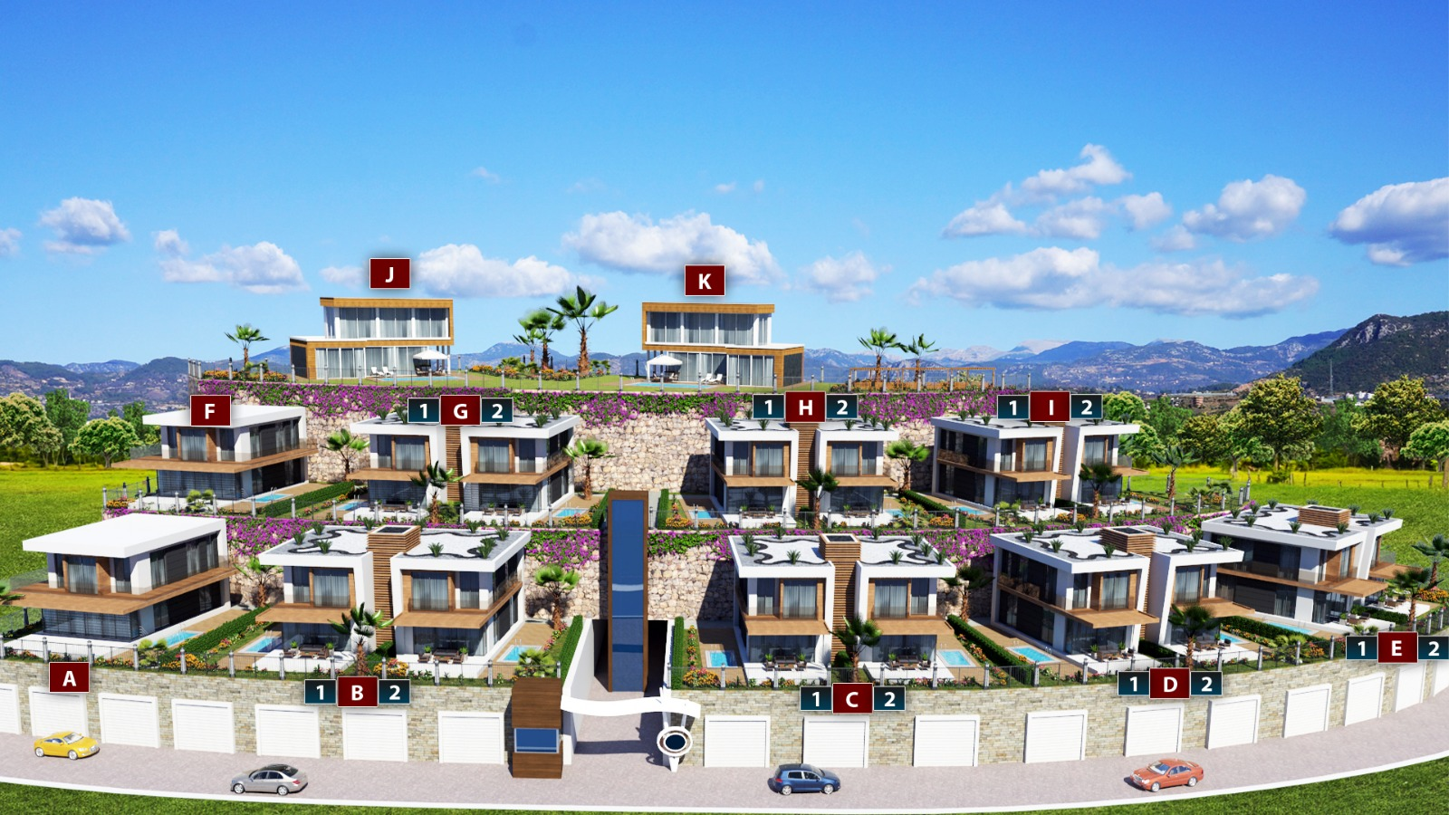 Alanya, Turkey, 3 Bedrooms Bedrooms, ,3 BathroomsBathrooms,Villa,International Properties,1022