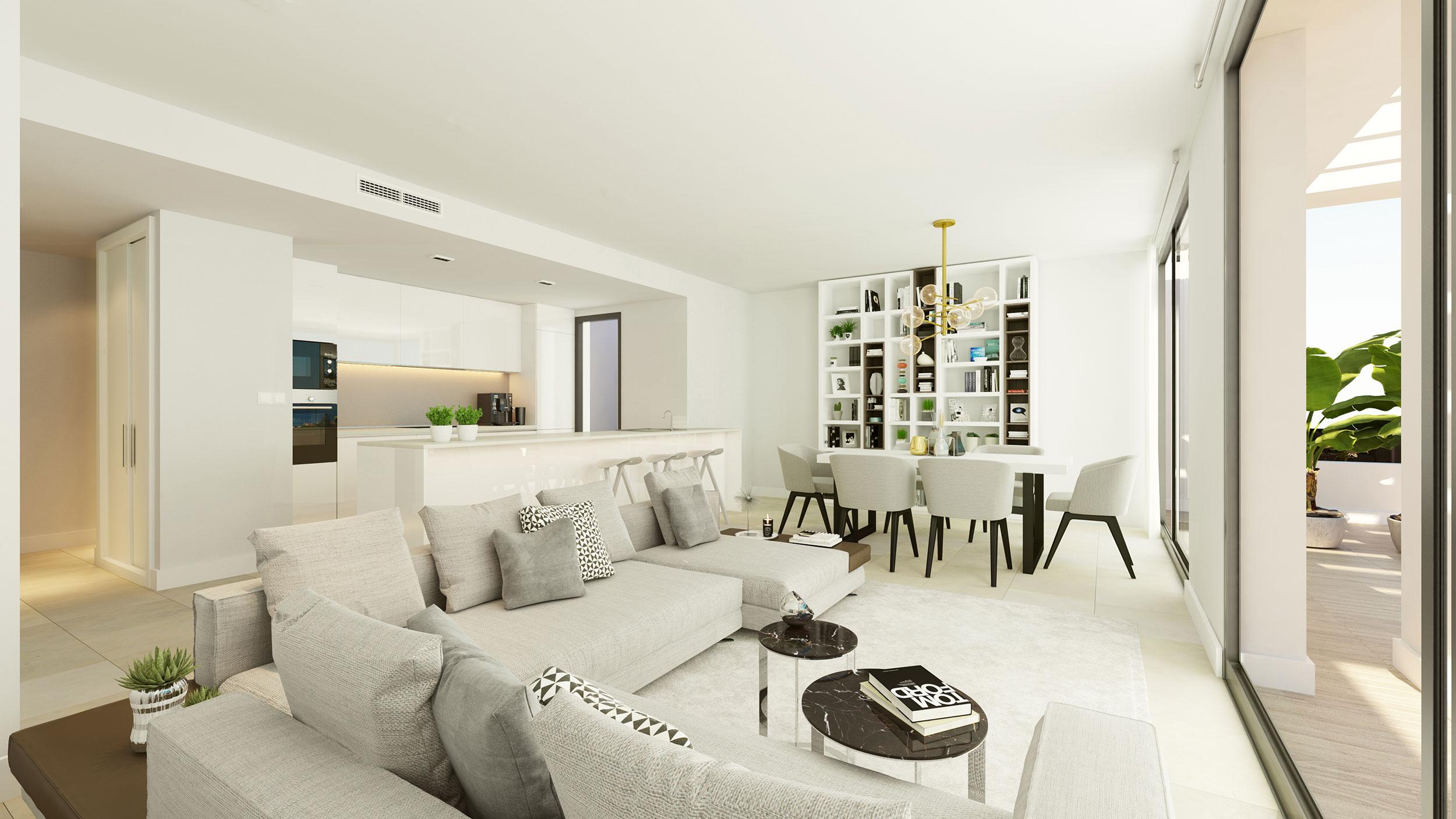 Estepona, Spain, 3 Bedrooms Bedrooms, ,2 BathroomsBathrooms,Apartment,International Properties,1,1030