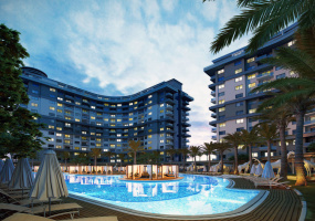 Mahmutlar, Alanya, Turkey, 1 Bedroom Bedrooms, ,1 BathroomBathrooms,Apartment,International Properties,1038